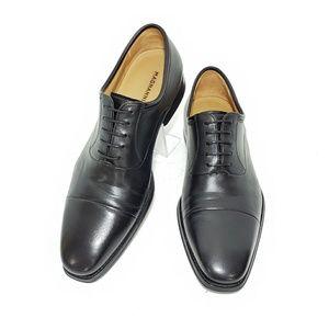 Magnanni Federico Men Oxfords Black Leather US 9 D